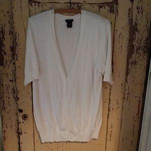 Women's Ann Taylor V-neck Cardigan XL
